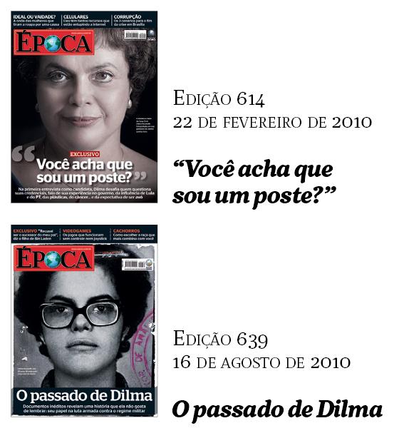 Capas Época - Dilma (Foto: Época)