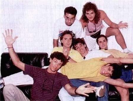 O grupo Inimigos do Rei foi um dos grandes sucessos da parada musical do país nos anos 80 e 90 (Foto: Reprodução)