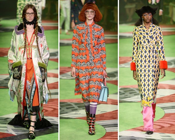 Gucci: padronagem setentinha (Foto: Getty Images)