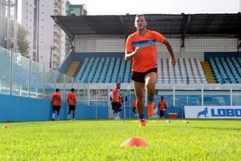 Betinho, treino, paysandu (Foto: Fernando Torres/Ascom Paysandu)