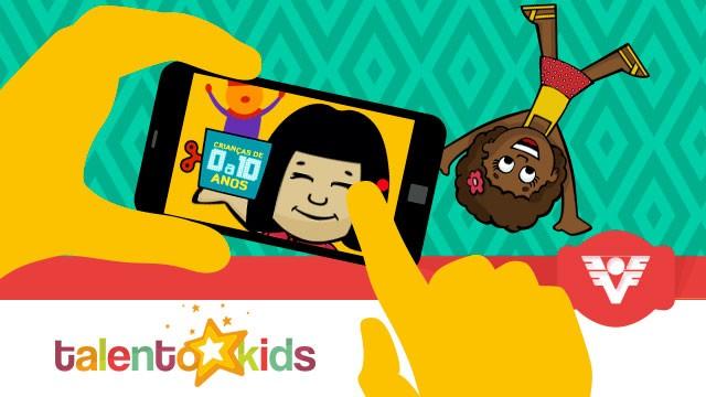 Talento Kids - TV Tribuna (Foto: Arte/TV Tribuna)