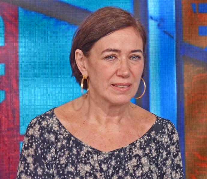 Lilia Cabral relembra personagens da carreira no 'Vídeo Show' (Foto: Brunella Menezes / Gshow)