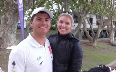 Marco Grael e  Saskia Tidey vela (Foto: Leonardo Filipo)