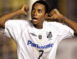 Robinho no Santos 2005 (Foto: Agência Reuters)