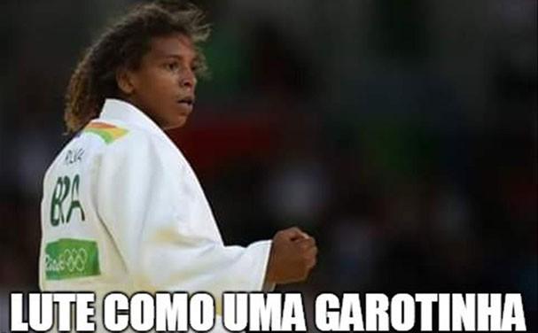 Memes ovacionam as mulheres nas Olimpíadas (Foto: Reprodução/Twitter)