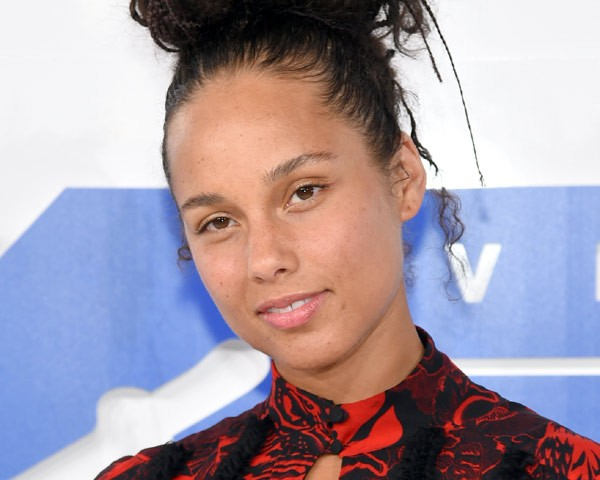 Alicia Keys, no VMA 2016 (Foto: Getty Images)