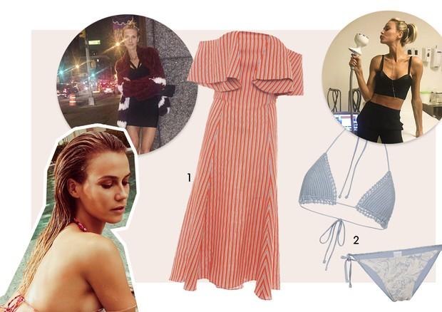 Guia de verão - Renata Kuerten (Foto: Tavinho Costa/Arquivo Vogue, Reprodução/Instagram e Divulgação)