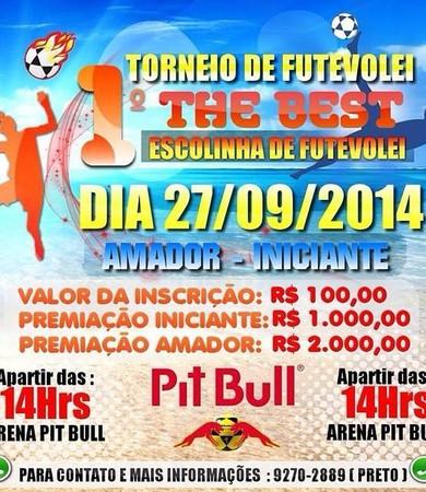 1º torneio de futevôlei (Foto: Divulgação)