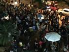 Protesto pede volta de Dilma e saída de Temer (Raquel Freitas/G1)