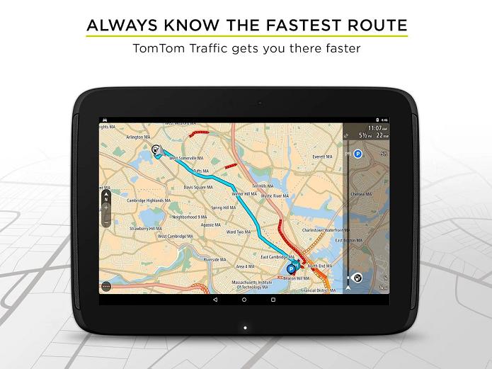 TomTom GPS Navigation é um app de GPS para Android (Foto: Divulgação)