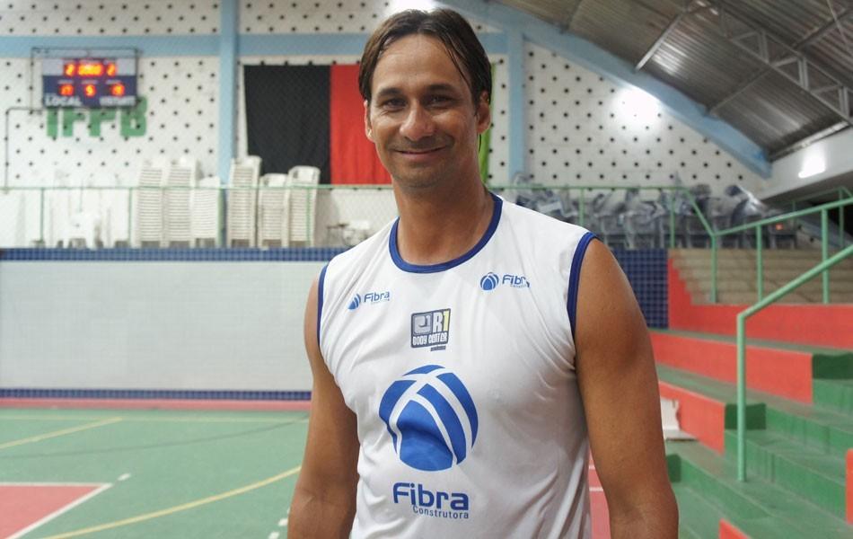 Ricardo do Vôlei de Praia (Foto: Larissa Keren/Globoesporte.com/pb)