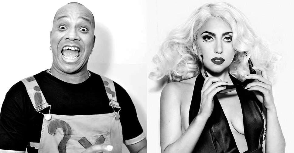 Molejo e Lady Gaga juntos no mashup do Boss in Drama (Foto: Reproduo)