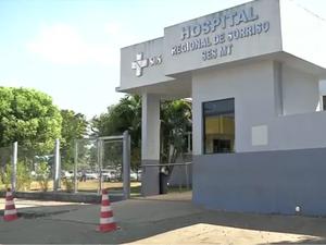 Hospital Regional de Sorriso (Foto: Reprodução/TVCA)