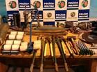 Polícia prende suspeitos de roubar agências bancárias e dos Correios