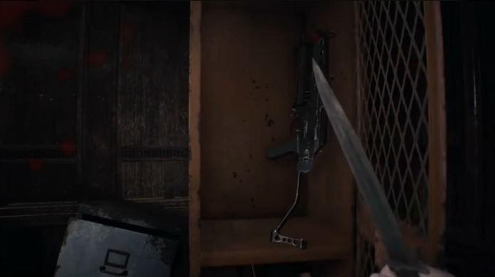 Resident Evil 7: Abra o armário no quarto andar e pegue a metralhadora (Foto: Reprodução/Thomas Schulze)