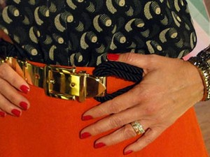 Detalhe look Fátima 18-09 (Foto: Encontro com Fátima Bernardes/TV Globo)
