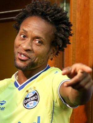 Zé Roberto, lateral do Grêmio  (Foto: Diego Guichard)