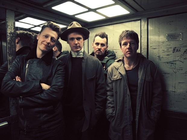 A banda escocesa Travis, que fará seu primeiro show no Brasil no dia 9 de novembro, em São Paulo (Foto: Divulgação)