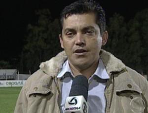 Claudio Roberto, técnico do Águia Negra (Foto: Reprodução/TV Morena)