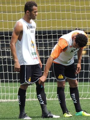 Elton sueliton Criciúma treino (Foto: João Lucas Cardoso)