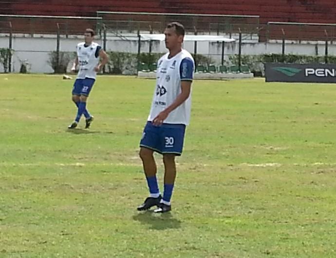 Wesley Ladeira e Fabricio Soares (Foto: Bruno Ribeiro)
