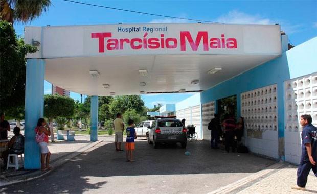Hospital Regional Tarcísio Maia atende pacientes de Mossoró e região Oeste do RN (Foto: Marcelino Neto)
