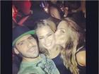 Ex-BBBs Yuri, Fani e Anamara curtem a noite carioca