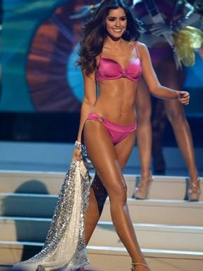 Miss Colômbia, Paulina (Foto: AP Photo/Wilfredo Lee)