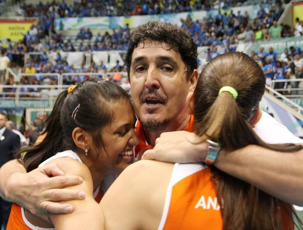Luizomar de Moura na final da Superliga (Foto: Alexandre Arruda / divulgação CBV)