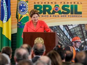 Presidente Dilma anuncia o pacote de energia (Foto: Roberto Stuckert Filho/PR)
