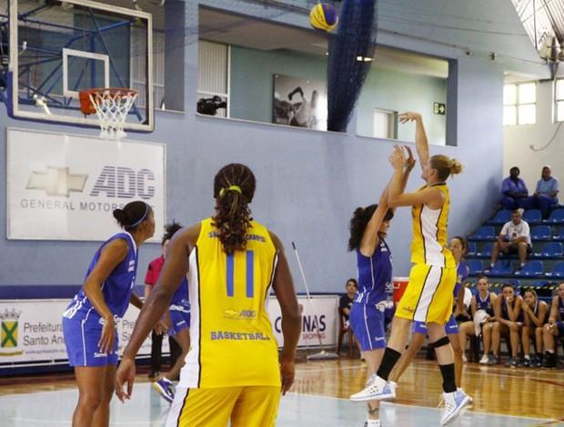 sao jose x santo andre basquete feminino (Foto: Divulgação/LBF)