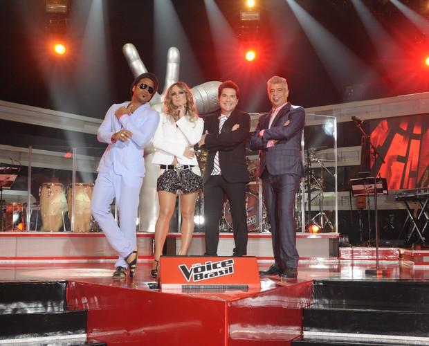 Tecnicos The Voice (Foto: The Voice Brasil/ TV Globo)