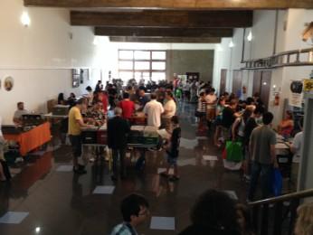 11° Feira do Vinil em Curitiba realizada neste sábado (15) (Foto: Laís Perissutte / G1 PR)