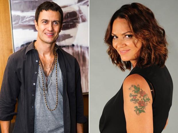 Gabriel Braga Nunes e Luiza Brunet em clique recente (Foto: João Miguel Júnior /  João Cotta / TV Globo)