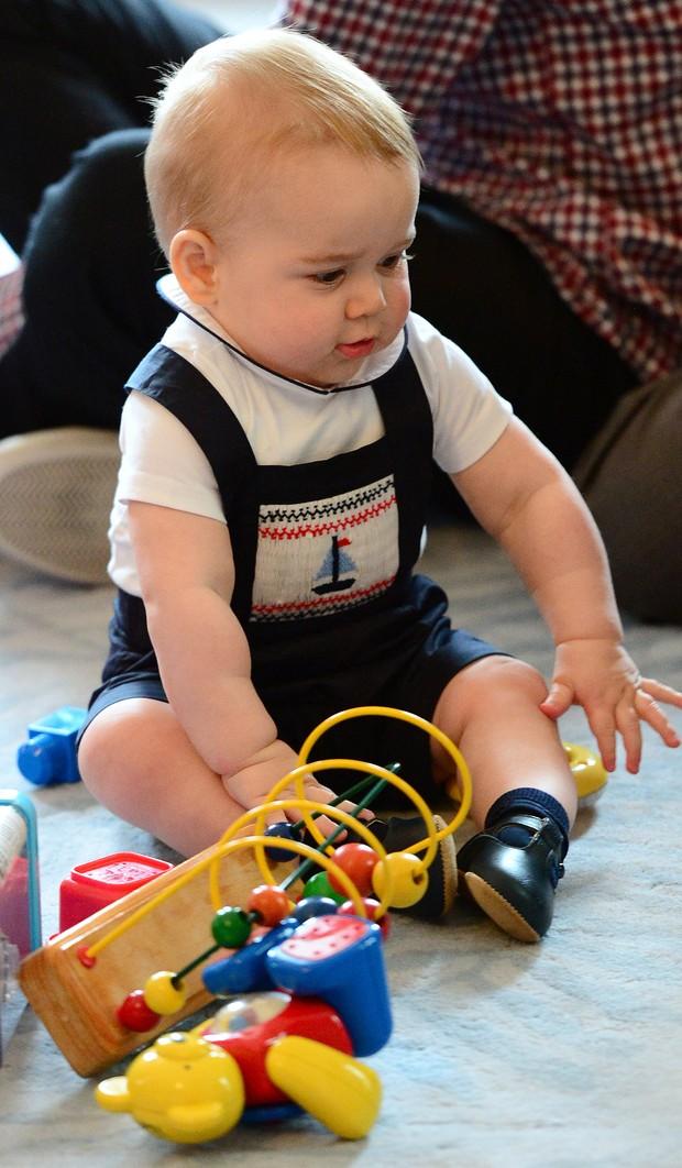 Raio X de Estilo - Príncipe George (Foto: Getty Images)
