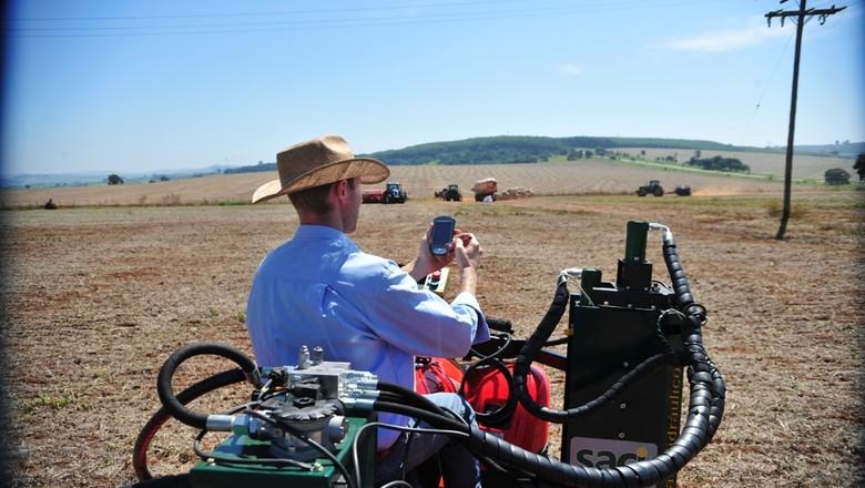 agricultura_de_precisao_gps_tecnologia (Foto: Ernesto de Souza/Ed. Globo)