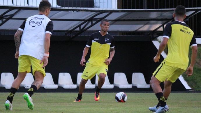 Adriano Pardal treino ABC (Foto: Andrei Torres/ABC)