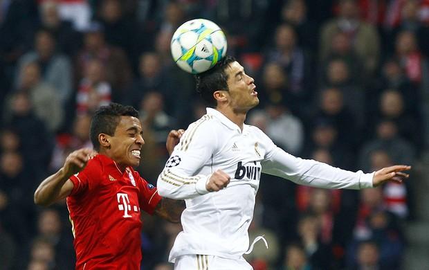 Cristiano Ronaldo - Bayer e Real (Foto: Reuters)