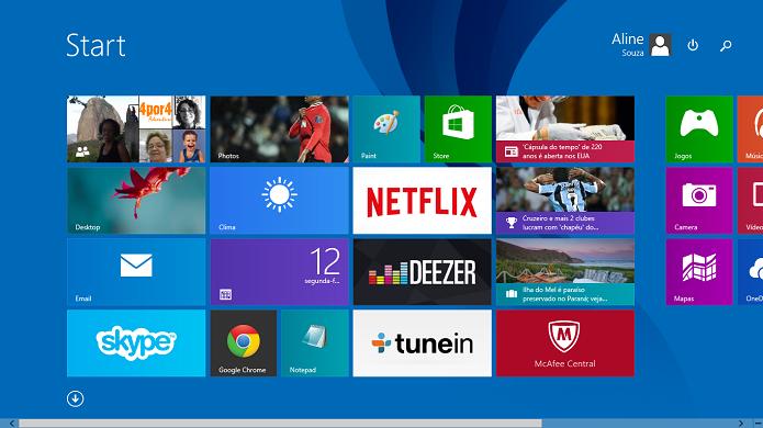 Falha no Windows 8.1 foi motivo de briga entre Google e Microsoft (Foto: Reprodução/Aline Jesus)