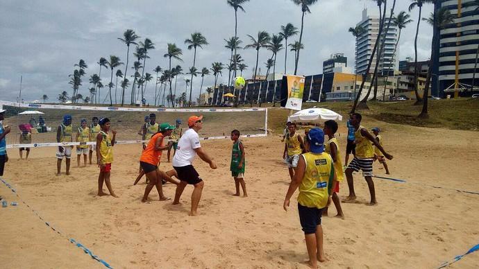 Vôlei de praia; Super Sacada; Salvador (Foto: Divulgação)