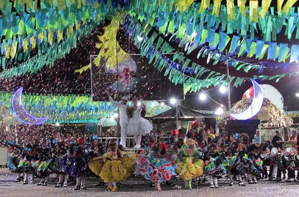 Luar do São João é a vencedora do Festival Clube de Quadrilhas 2014 (Foto: Katylenin França/TV Clube)