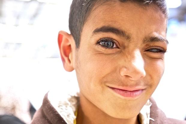Zaatari Campo de Refugiados Jordânia (Foto: Henrique de Campos / Divulgação)