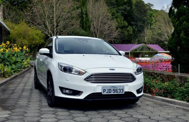 Novo Ford Focus hatch (Foto: Divulgação)