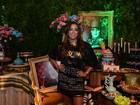 Anitta faz festão com convidados famosos no Rio