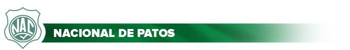 Header Nacional de Patos (Foto: Globoesporte.com)