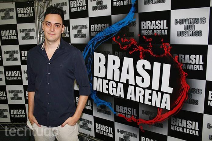 Felippe Corradini, criador do evento, diz que a ideia é rodar o Brasil, com diversas sedes  (Foto: Felipe Vinha/TechTudo)
