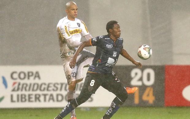 Doria jogo Botafogo e Independiente del Valle (Foto: AP)