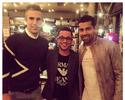 André Santos reencontra Van Persie, velho amigo dos tempos de Arsenal