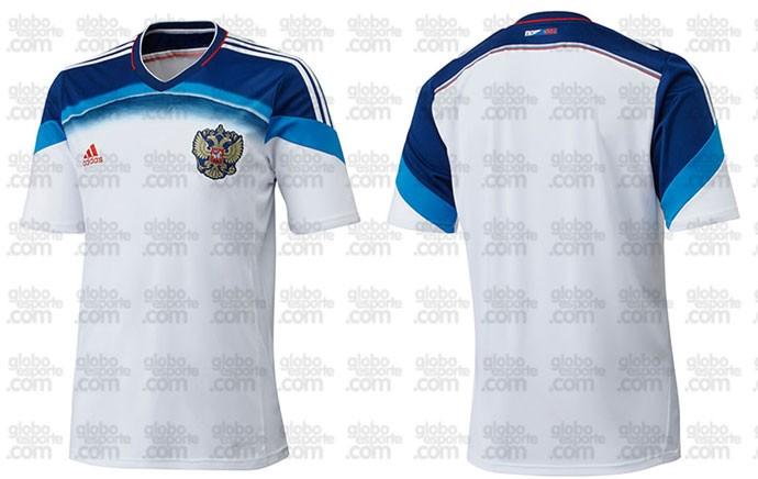 camisa Russia nova