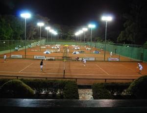 Quadra Uirapuru Tênis Uberaba (Foto: Uirapuru Iate Clube/ Divulgação)
